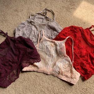 Victoria secret/pink bralette bundle